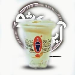 بستنی آیس پک بزرگ موز کرمان