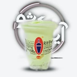 بستنی آیس پک بزرگ آناناس کرمان